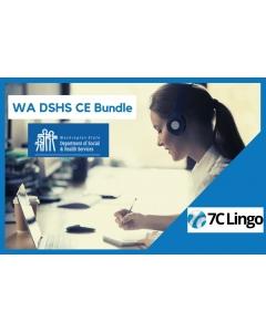 Washington State DSHS Continuing Education Bundle